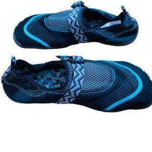 OP | SZ 9-10 WOMENS BLUE STRECHABLR WATER SHOES